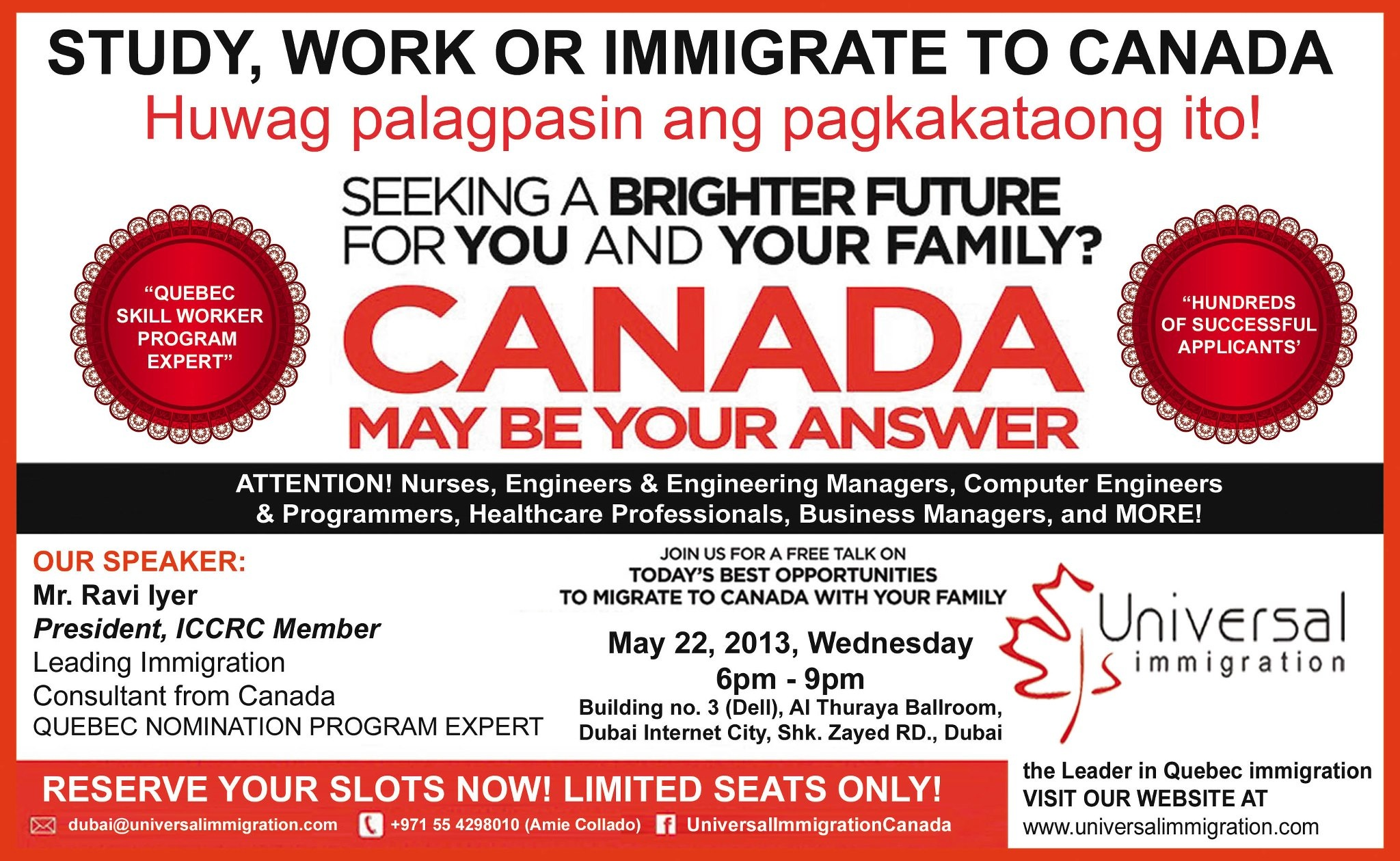 Universal Immigration ::